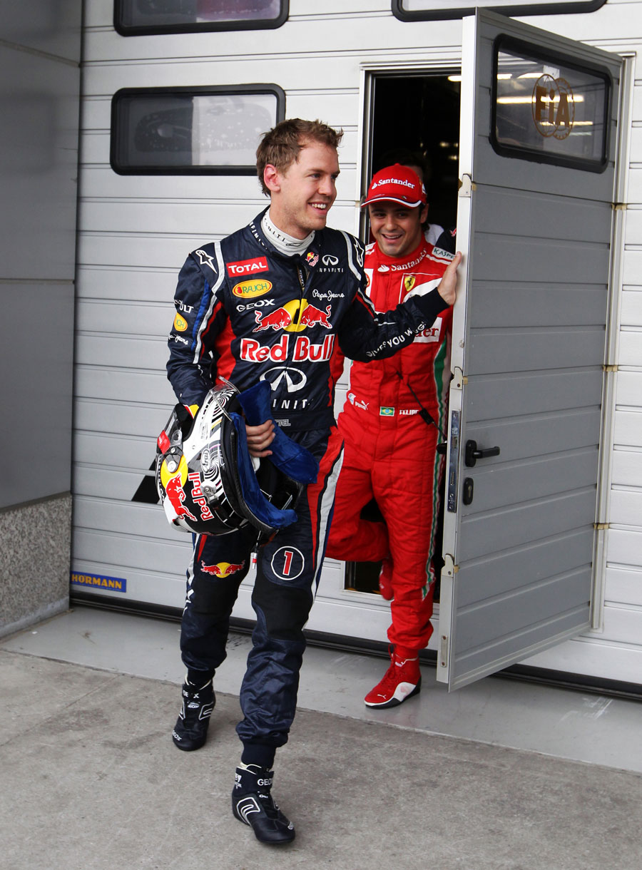 14193 - Who said what after qualifying in China