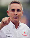 Martin Whitmarsh in the paddock on qualifying day