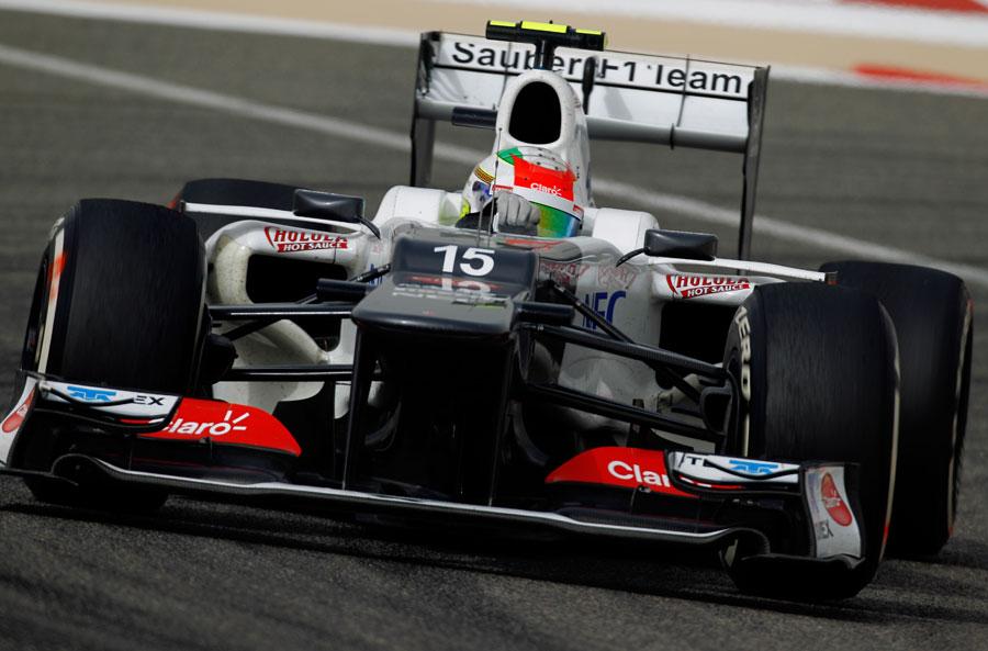 14313 - Sauber close to the podium - Morris