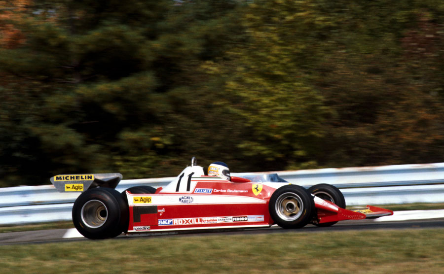Carlos Reutemann on his way to victory in the US Grand Prix