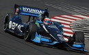 KV Racing's Rubens Barrichello, in his first race at home since joining IndyCar