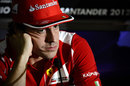 Fernando Alonso in the driver press conference