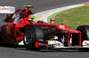 Felipe Massa in action for Ferrari