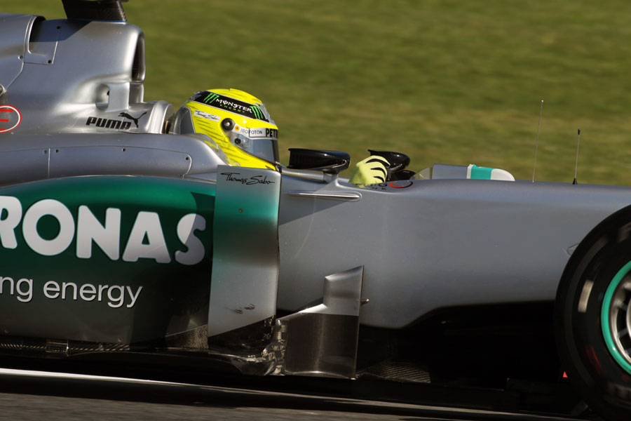 14565 - 'A few question marks' for Rosberg