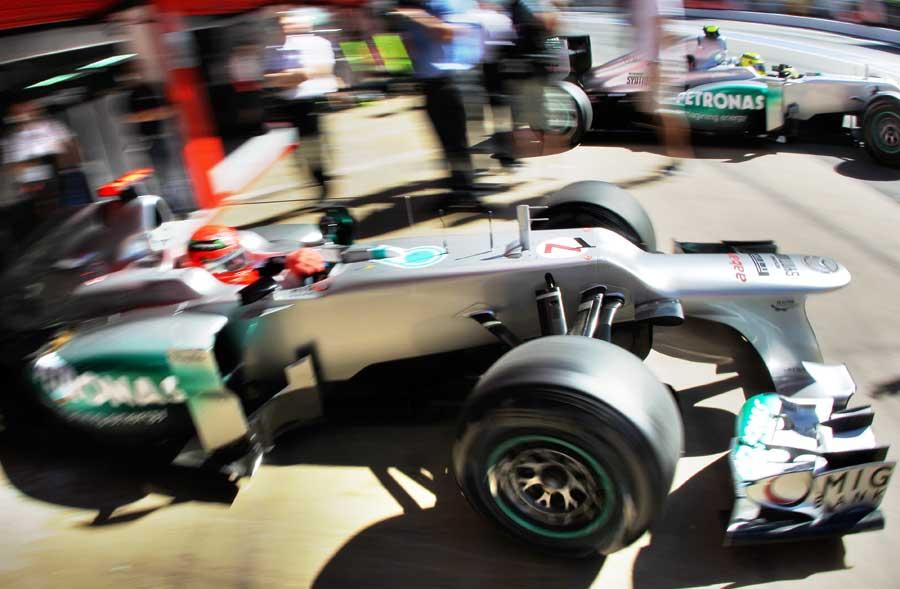 14581 - Testing benefit shows - Schumacher