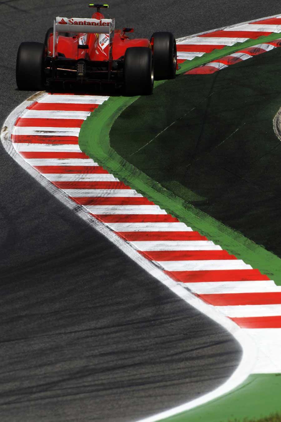 Felipe Massa in action
