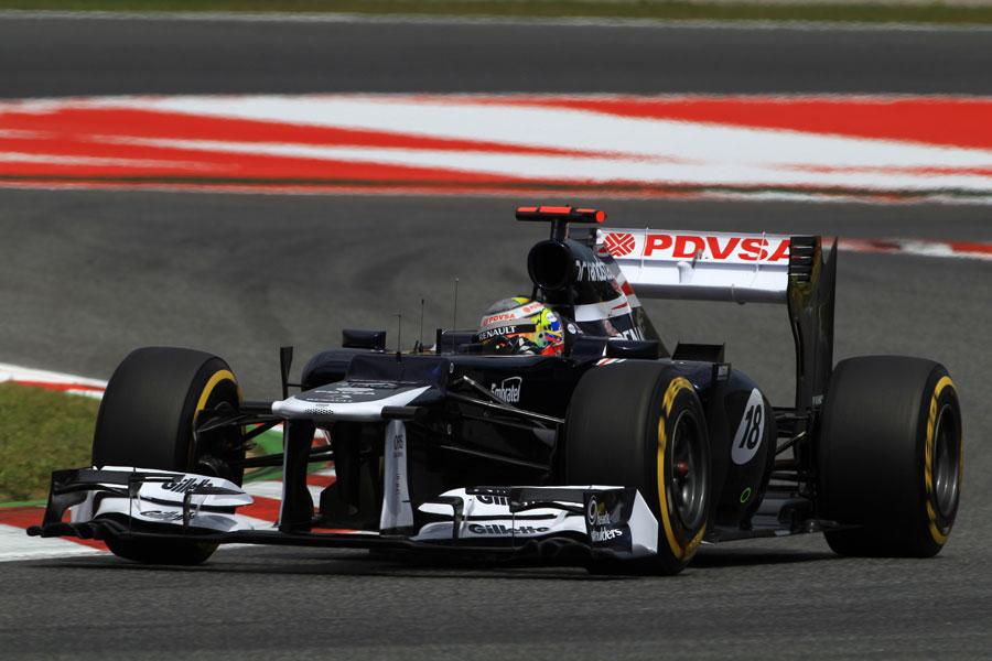 14610 - 'The car looks fantastic' - Maldonado