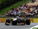 Kimi Raikkonen on his way to third place