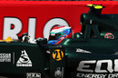 Vitaly Petrov in action
