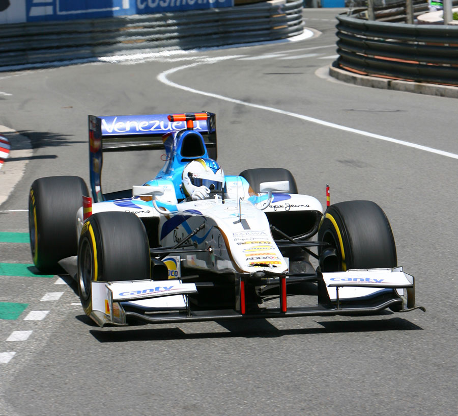 Johnny Cecotto in action during qualifying