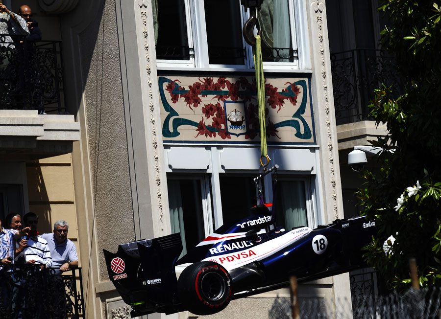 14797 - Pastor Maldonado hit with grid penalty