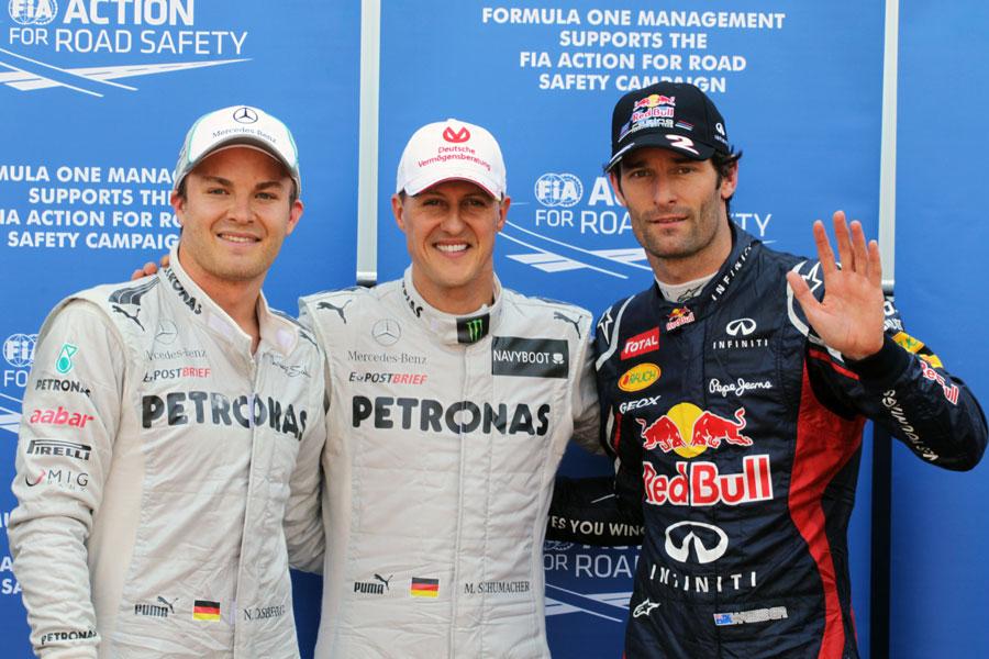 14801 - Michael Schumacher takes Monaco pole before penalty