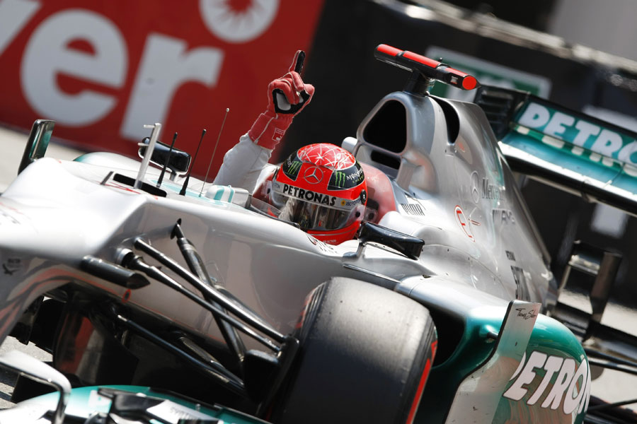 14803 - Schumacher counting on strong race in Canada