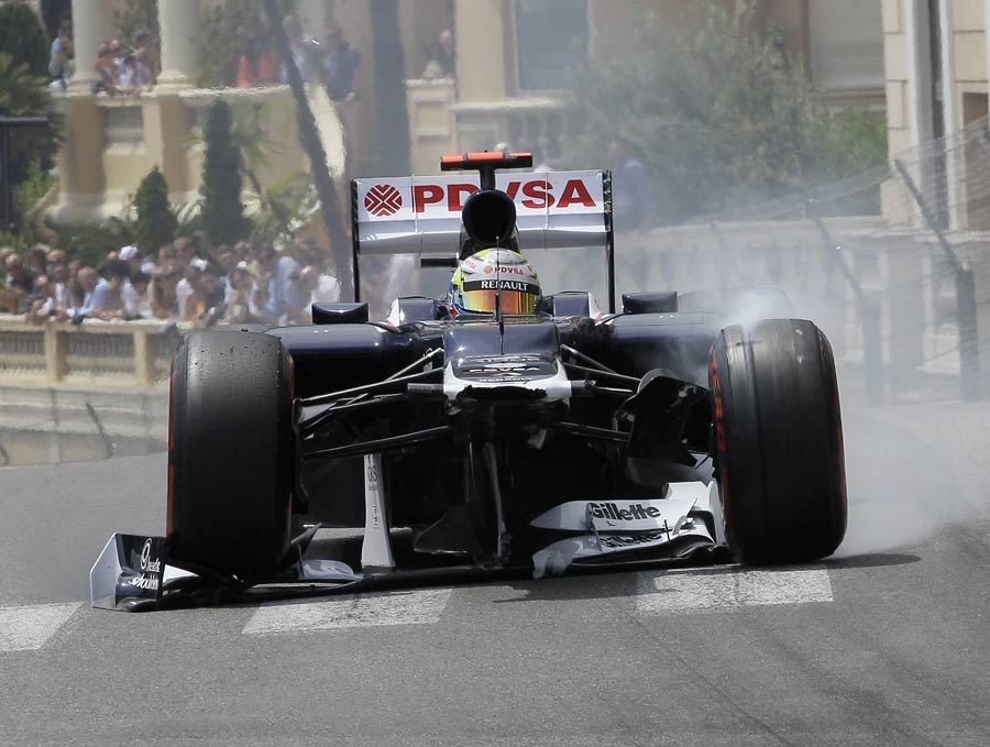 14828 - Williams disappointed with Maldonado