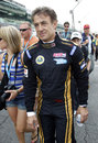 Jean Alesi prepares to become the oldest rookie in Indy 500 history