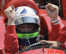 Dario Franchitti celebrates winning his third Indy 500 crown