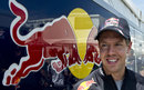 Sebastian Vettel faces the media in the Montreal paddock