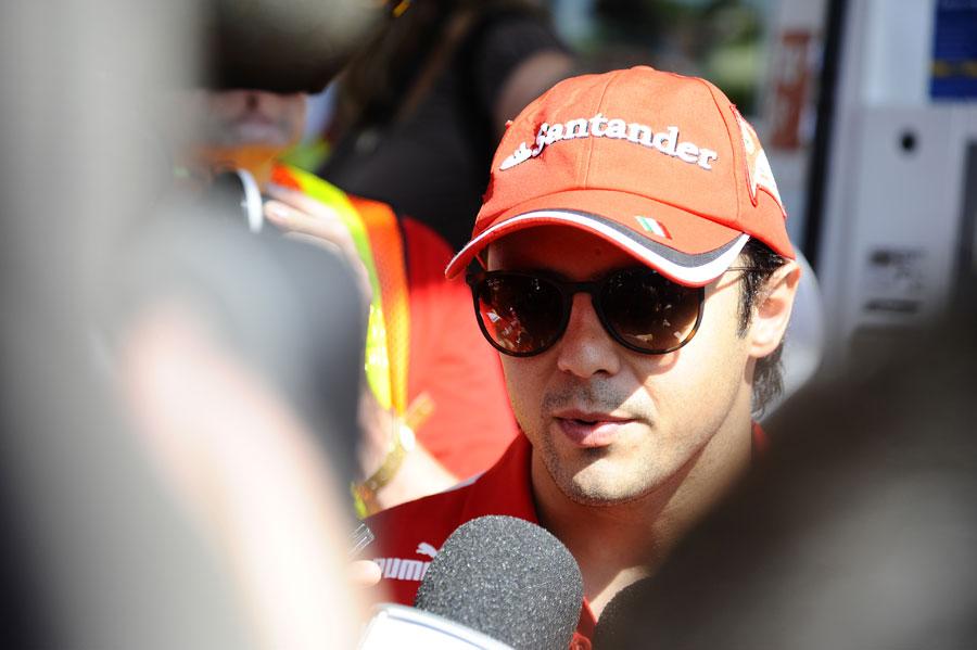 14936 - Massa targets victories in 2012