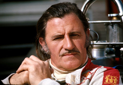 Team owner and driver Graham Hill