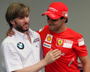 Nick Heidfeld and Felipe Massa