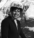 Female racing driver and skier Divina Galica