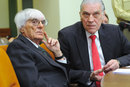 Bernie Ecclestone testifies as a witness at the Gerhard Gribkowski trial