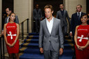 Jenson Button and friends at the London Grand Prix VIP Event