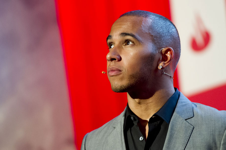 Lewis Hamilton at the London Grand Prix VIP Event