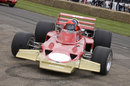 Emerson Fittipaldi in a Lotus 72D