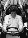 Jochen Rindt focuses on the job at hand in his V12 Cooper