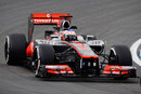 Jenson Button puts some mileage on McLaren's updates