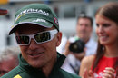 Heikki Kovalainen ahead of his 100th grand prix