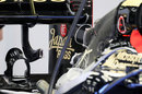Detail of Lotus' double DRS device