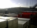 The sun-bathed Spa paddock on Saturday morning