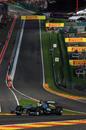 Nico Rosberg tackles Eau Rouge during FP3