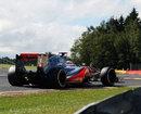 Jenson Button at Les Combes
