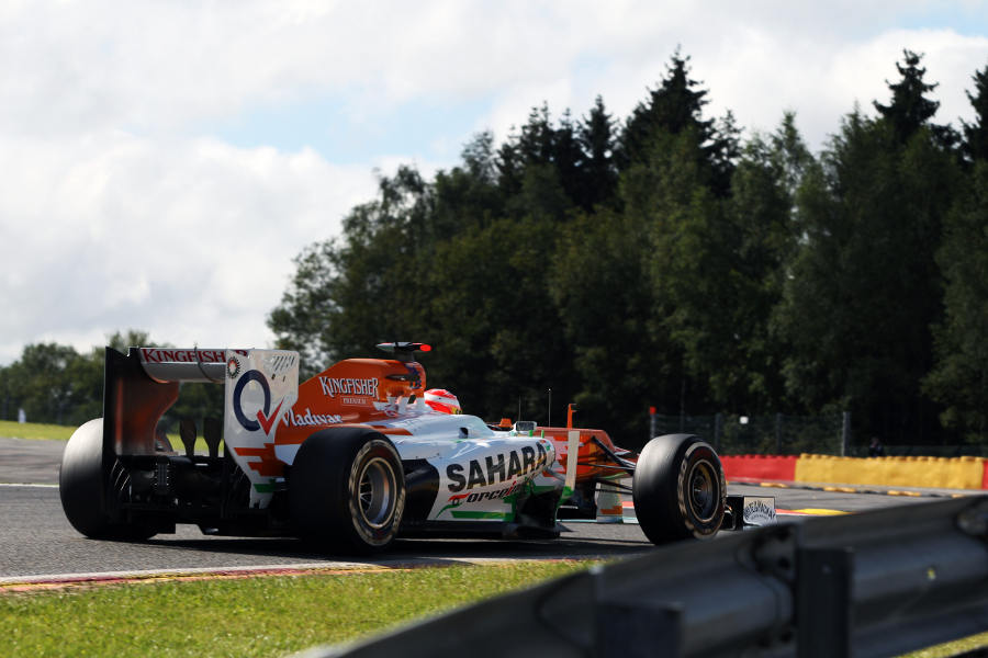 Paul di Resta tackles Les Combes