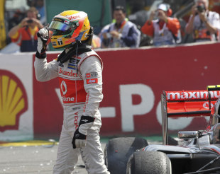 Lewis Hamilton insists the Belgian Grand Prix weekend is already behind him