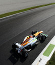 Paul di Resta tackles the Parabolica