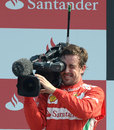 The hunted turns hunter: Fernando Alonso behind the camera for once