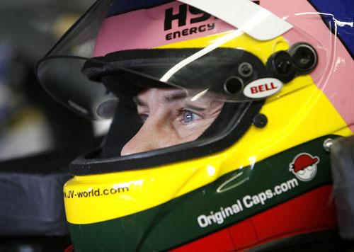 Jacques Villeneuve at a NASCAR race