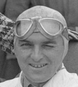 Hermann Lang prepares to race