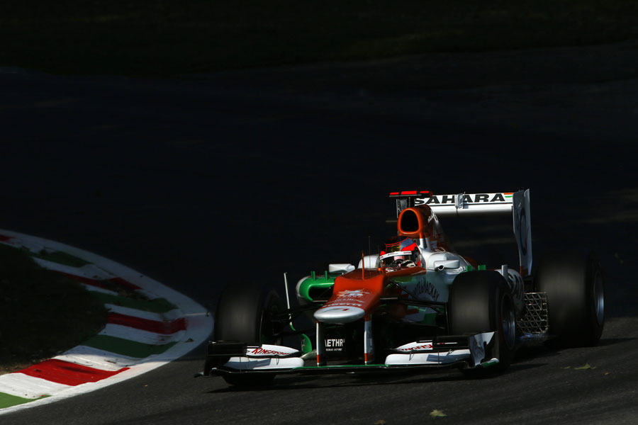 Jules Bianchi takes part in his seventh Friday practice session of the season