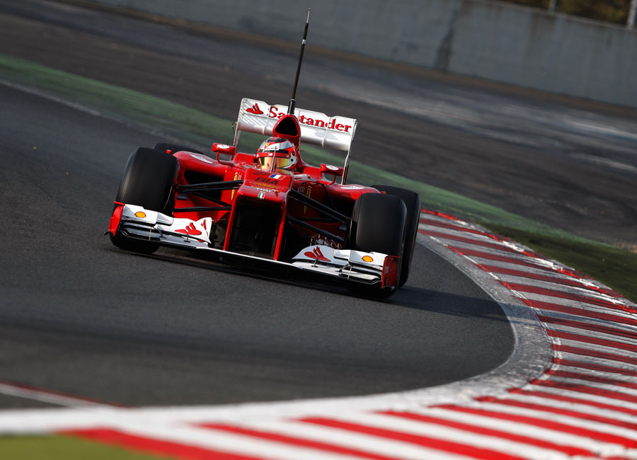 Jules Bianchi spots his turn-in point