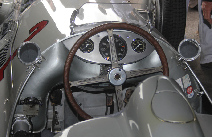 Mercedes W154 No.2, which competed in the 1938 and 1939 Grand Prix seasons