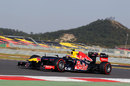 Mark Webber on a flying lap on supersoft tyres