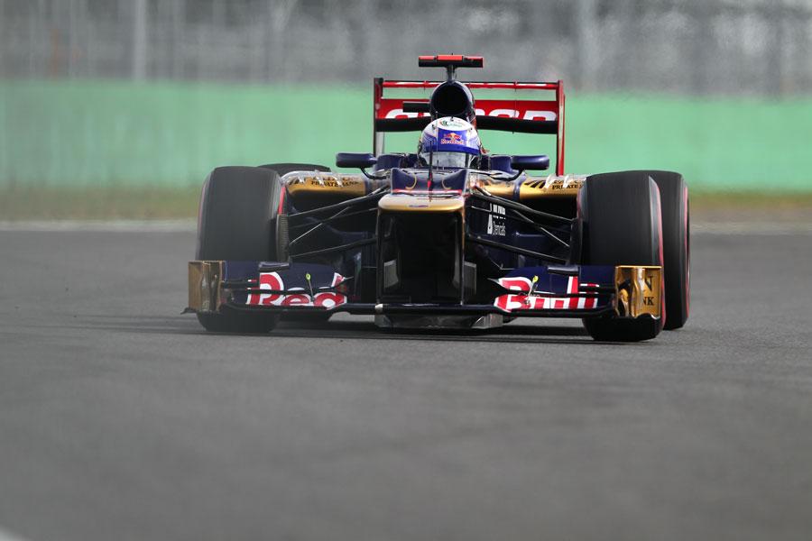 Daniel Ricciardo on a qualifying lap