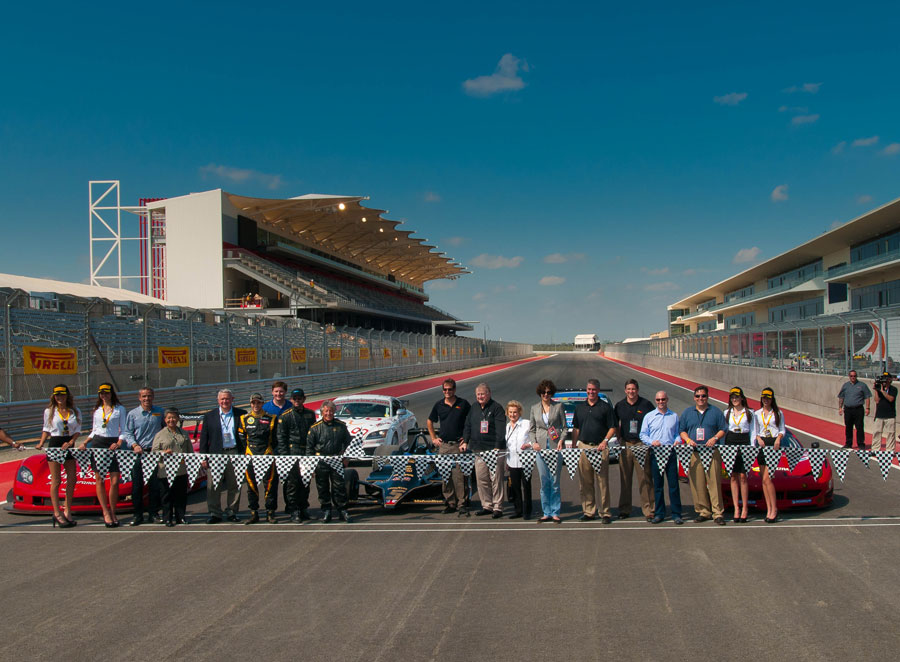 The 'First Lap Ceremony' at the Circuit of the Americas