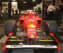 The 1998 Ferrari F300  that was driven by Michael Schumacher