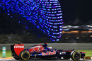 Daniel Ricciardo at speed in the Toro Rosso